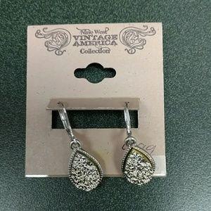Nine West Silver Toned Earrings
